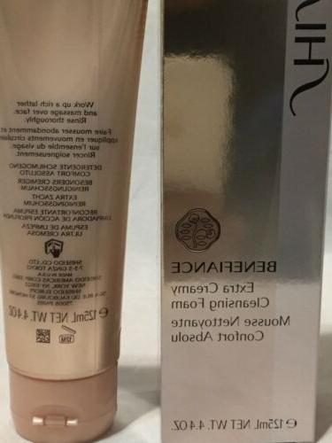 Shiseido Benefiance Extra Cleansing Foam / 125 ml. Sealed