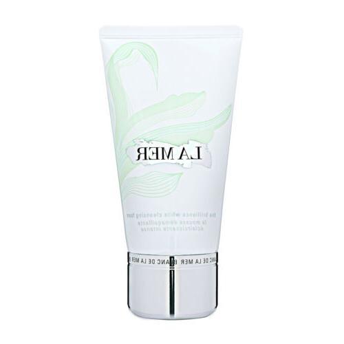 blanc de brilliance white cleansing foam fresh