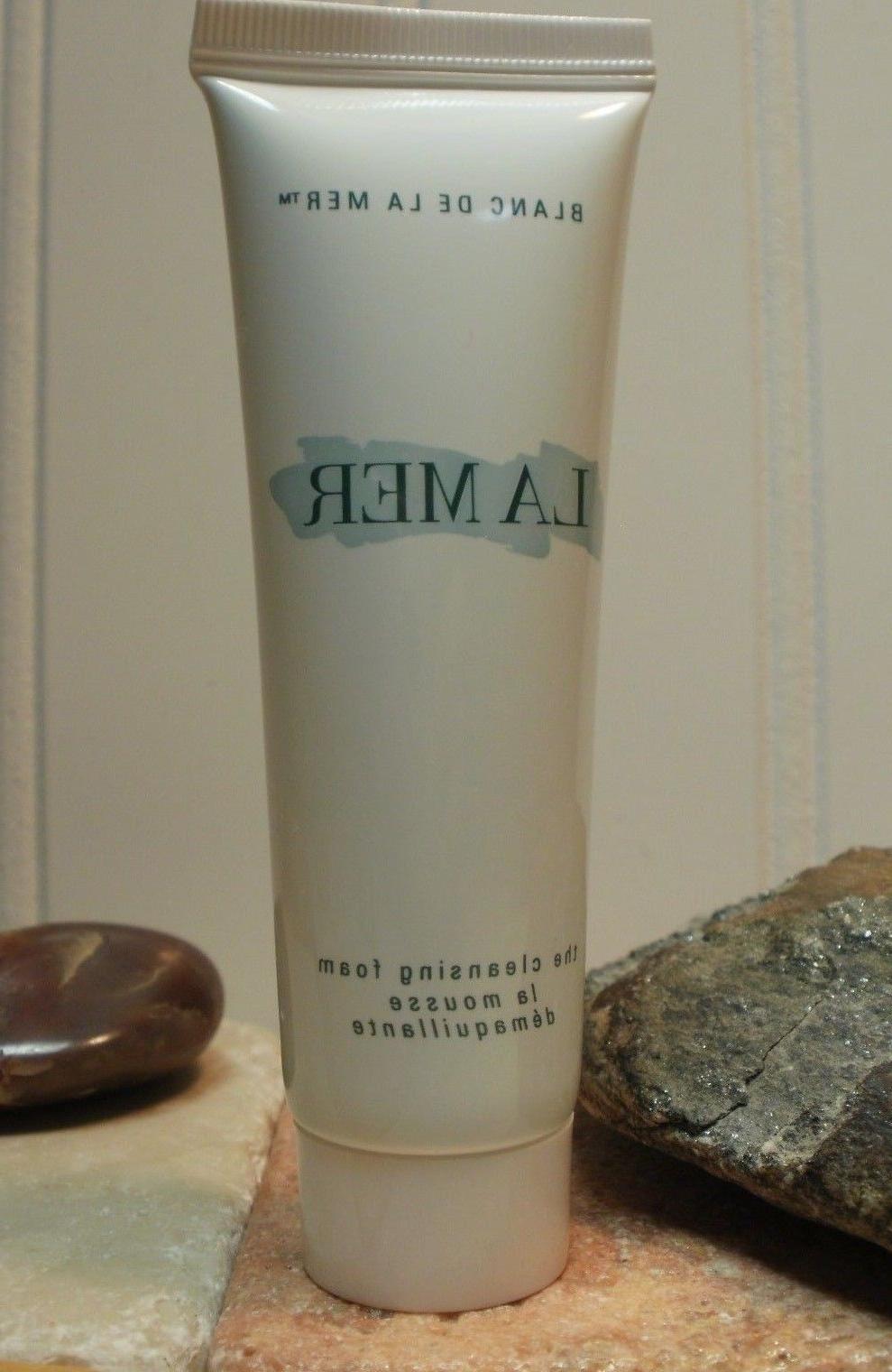 La Mer Blanc De La Mer Cleansing Foam 1 oz ~ 30 ml Deluxe Tr