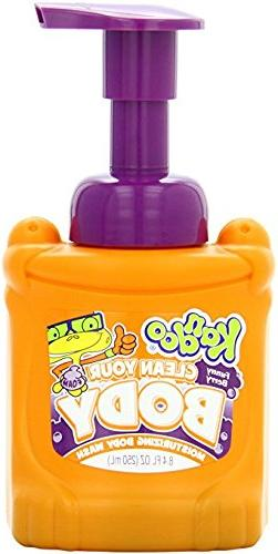Kandoo BrightFoam Moisturing Foaming Kids Body Wash with Vit