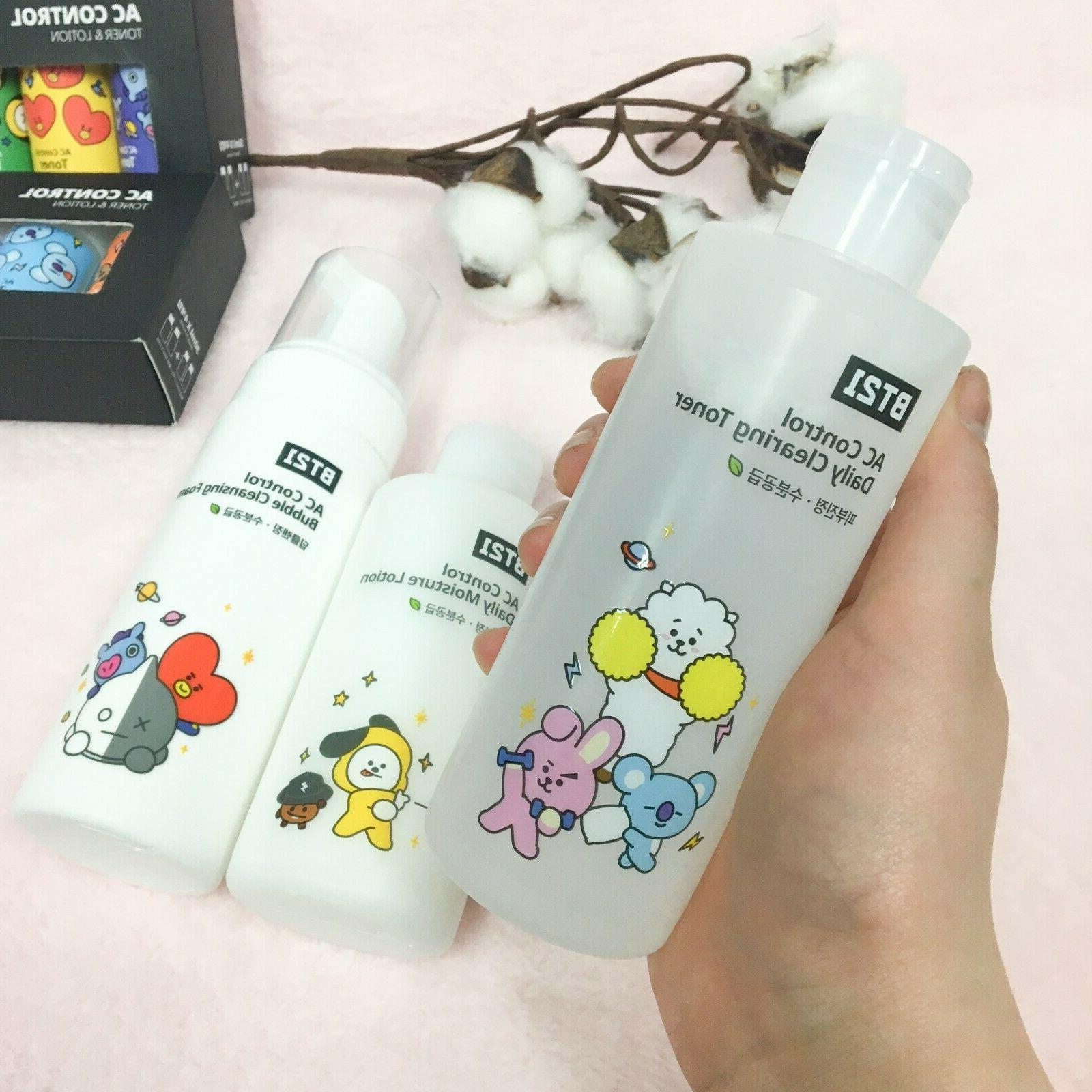 BT21 X TN Care Control Daily Clearing Toner / / Foam