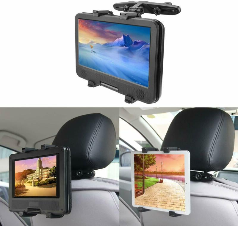 Bedee Car Headrest Mount Holder For Tablet Dvd Player Univer