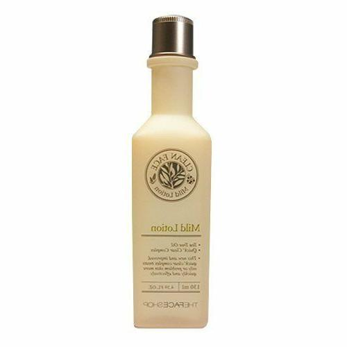 clean face mild lotion 130ml ship from