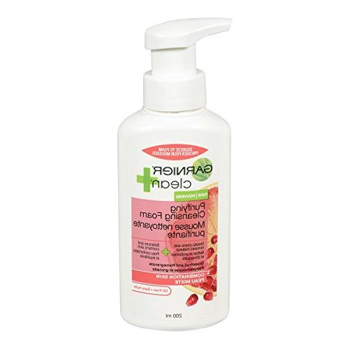 clean purifying foam cleanser combination