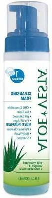 Aloe Vesta Cleansing Foam-Packaging: 8 Oz Bottle - Uom = Cas