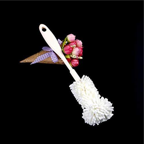 yanQxIzbiu Easy Bottle Cup Brush Kitchen Washing Tool White