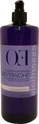 EO Essentials Lavender + Aloe Soothing Shower Gel 32 oz.