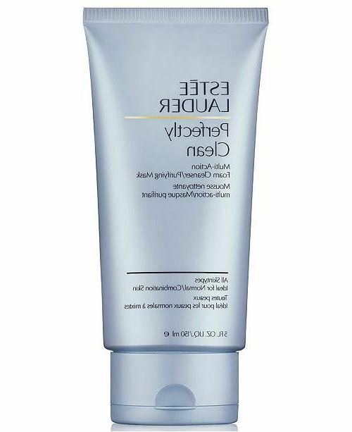 estee lauder perfectly clean multi action cleansing