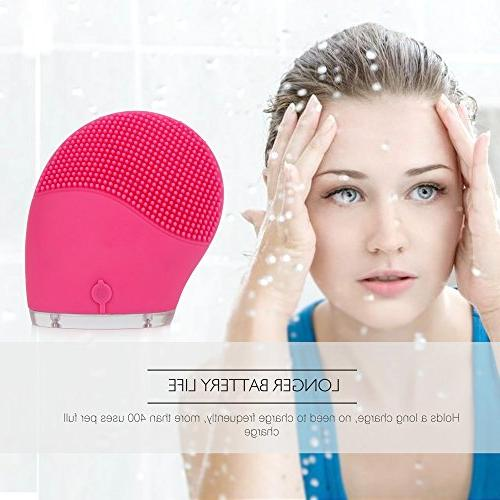 HailiCare Facial Cleansing Electric Waterproof Cleanser and Massager