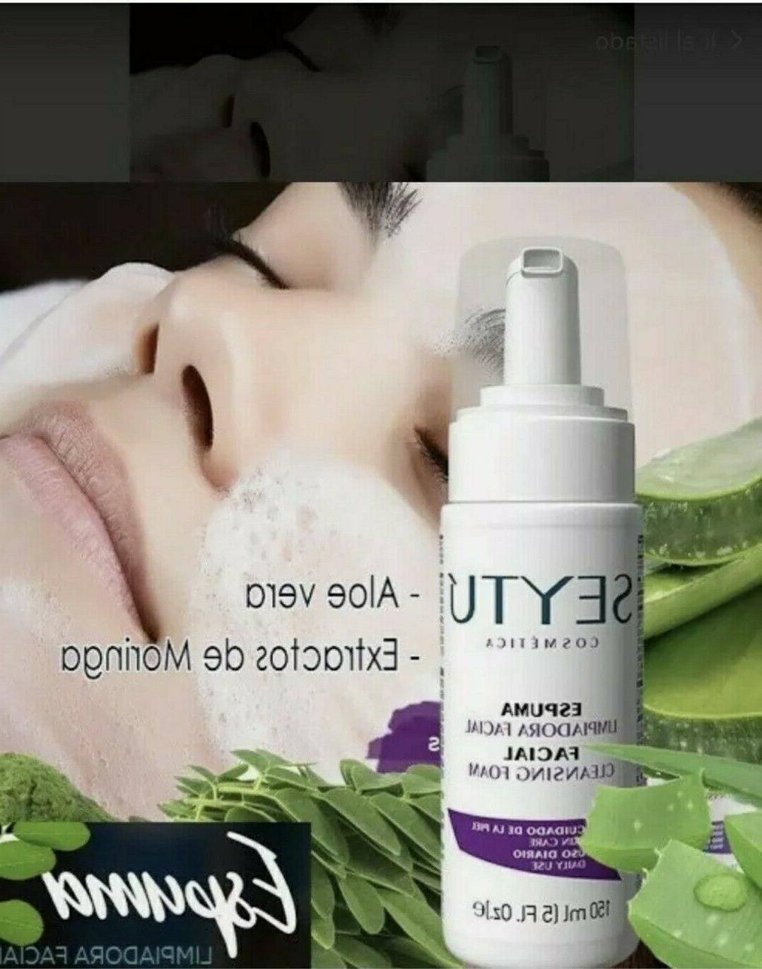 Seytu Facial Facial Cleansing Foam Manchas Paño 5oz