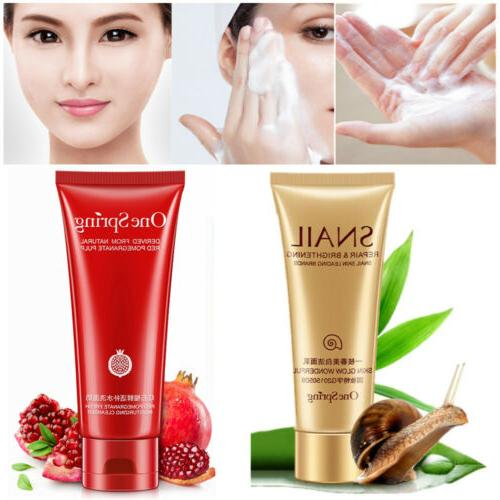 facial foam cleaner face moisturize wash cleansing