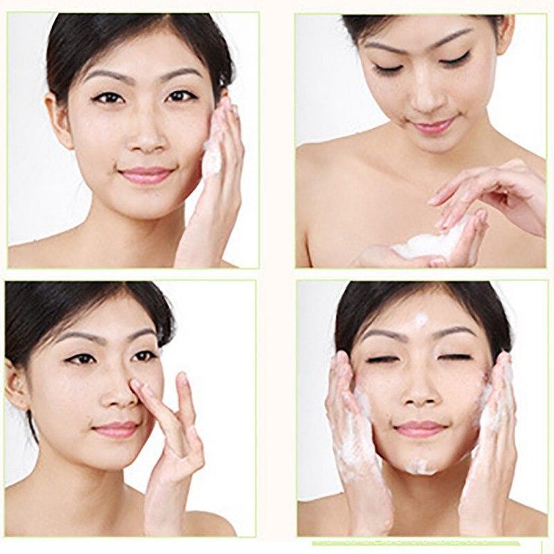 <font><b>Face</b></font> Vera Cleanser <font><b>Foam</b></font> Skin Care Acne Cosmetic Whitening Treatment