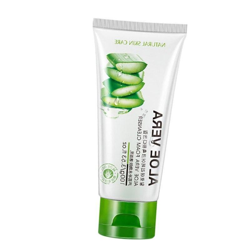 <font><b>Face</b></font> Vera <font><b>Foam</b></font> Care Acne Cosmetic Nutritious Treatment