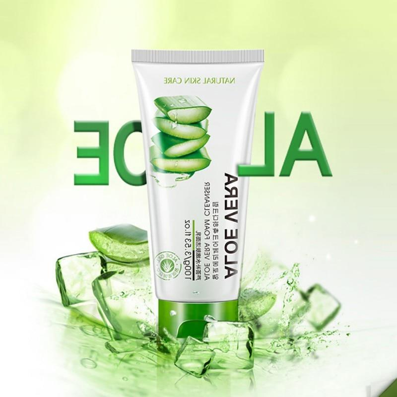 <font><b>Face</b></font> Deep Vera Gel <font><b>Foam</b></font> Acne Nutritious Whitening Treatment