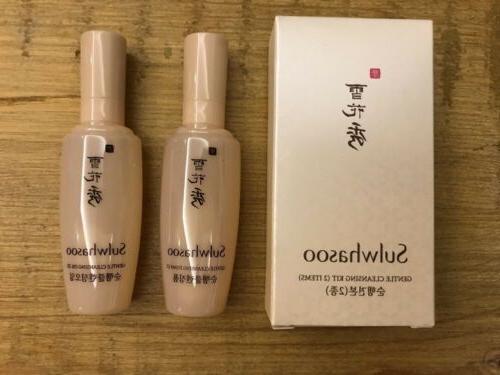 Sulwhasoo Gentle Cleansing kit Oil EX 15ml + Foam EX 15ml 2