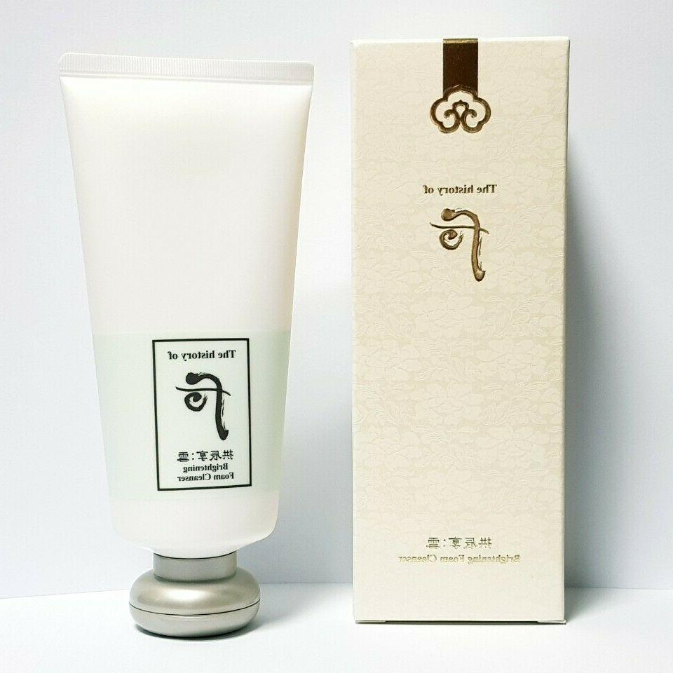 The History of Gongjinhyang Brightening Cleansing Foam 180ml