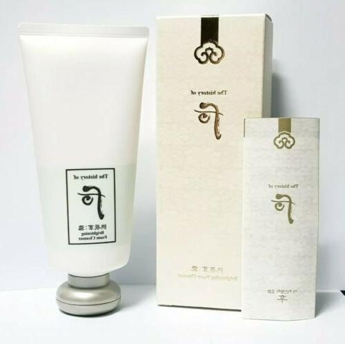gongjinhyang seol brightening cleansing foam 180ml k