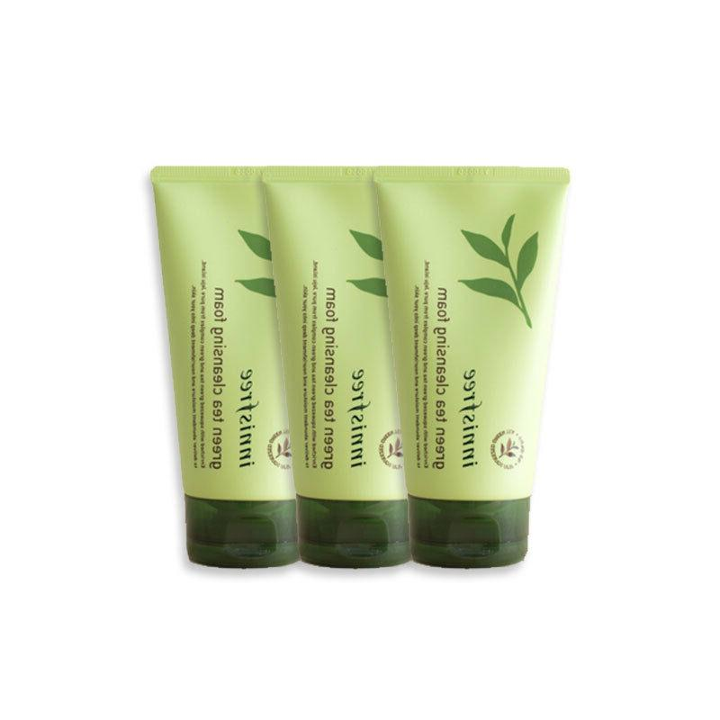 green tea cleansing foam 30ml gift 3pcs