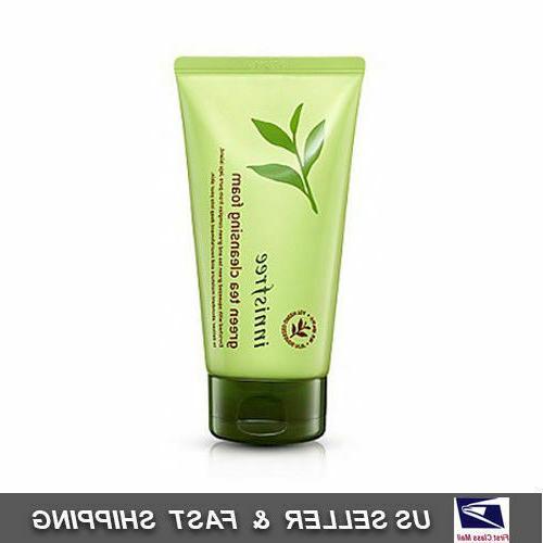green tea cleansing foam cleanser 150ml usa