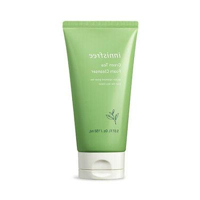 Innisfree Green Tea Foam Cleanser 150ml Renewal