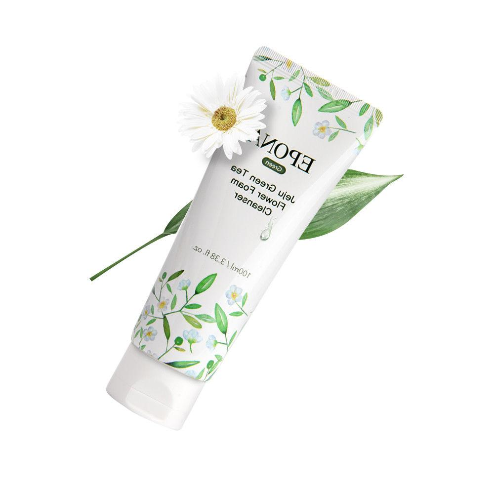 Epona Jeju Green Flower Foam Deep Cleansing Moisturizing