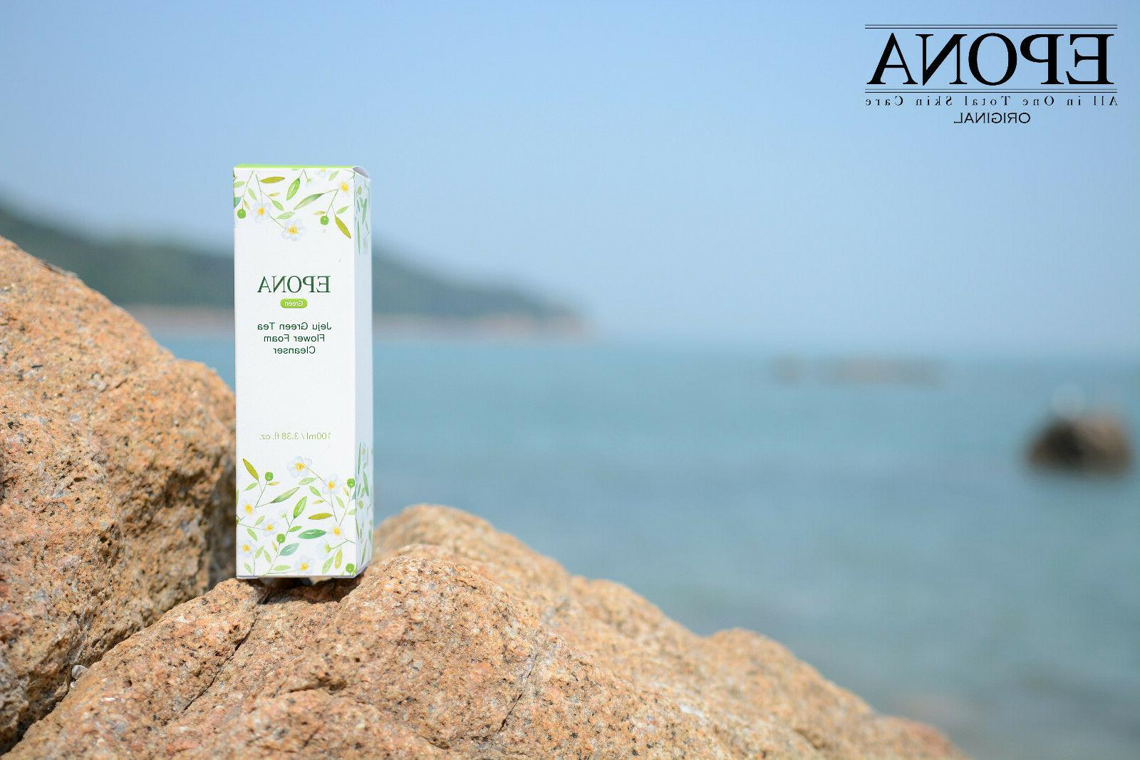 Epona Jeju Flower Foam Cleanser Deep Cleansing Moisturizing