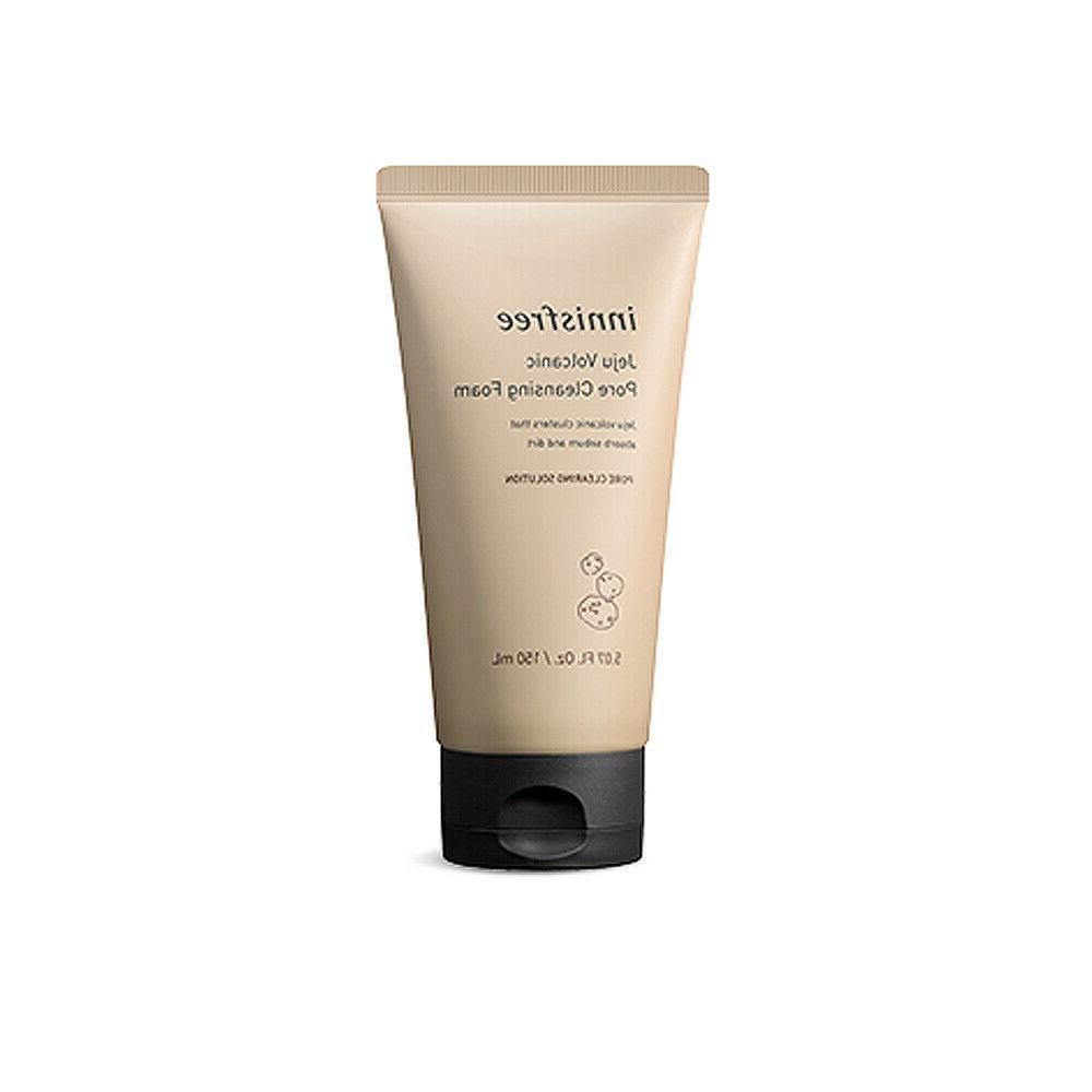 jeju volcanic pore cleansing foam 150ml free
