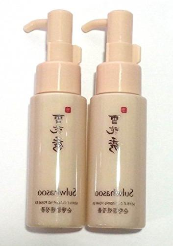 korea cosmetics gentle cleansing foam