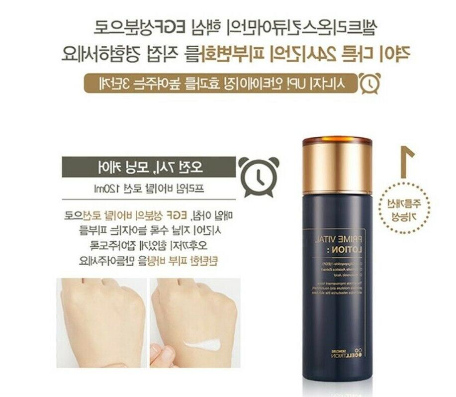 Korean Vatel Mist+Lotion+Foam cleansing Set Anti-aging