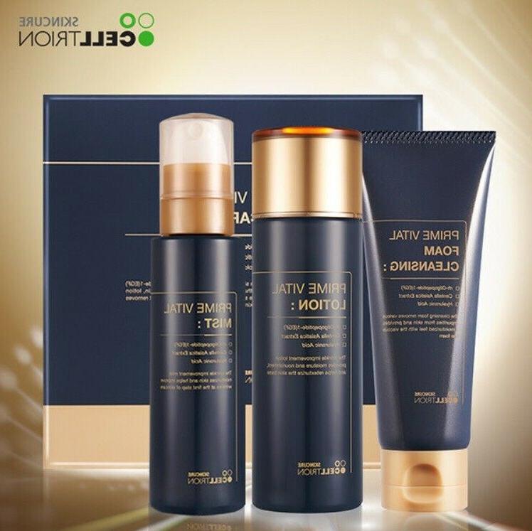 Korean Vatel cleansing Set Anti-aging