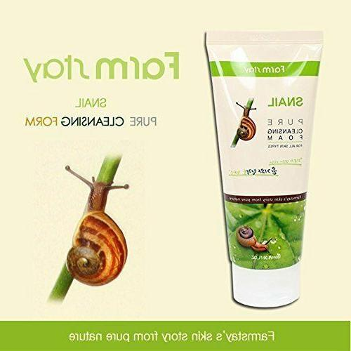 Farm Pure Snail Cleanser Cosmetic