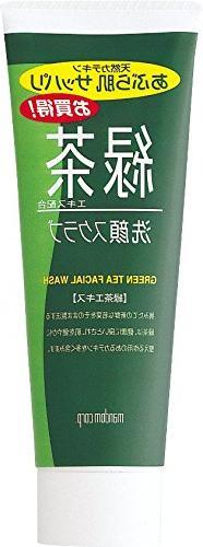 Mandom Green Tea Facial Wash
