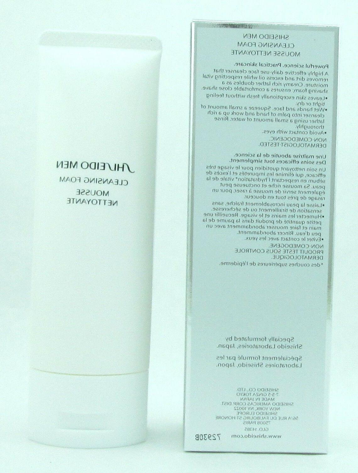 Shiseido Men Foam 125 / oz New Box