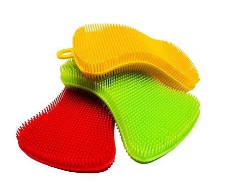 multi purpose silicone kitchen sponge