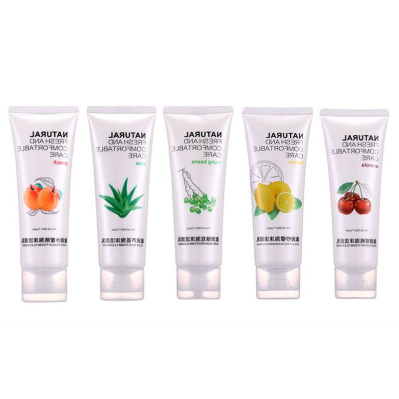 Natural Lemon Moisturizing Face Wash Cream