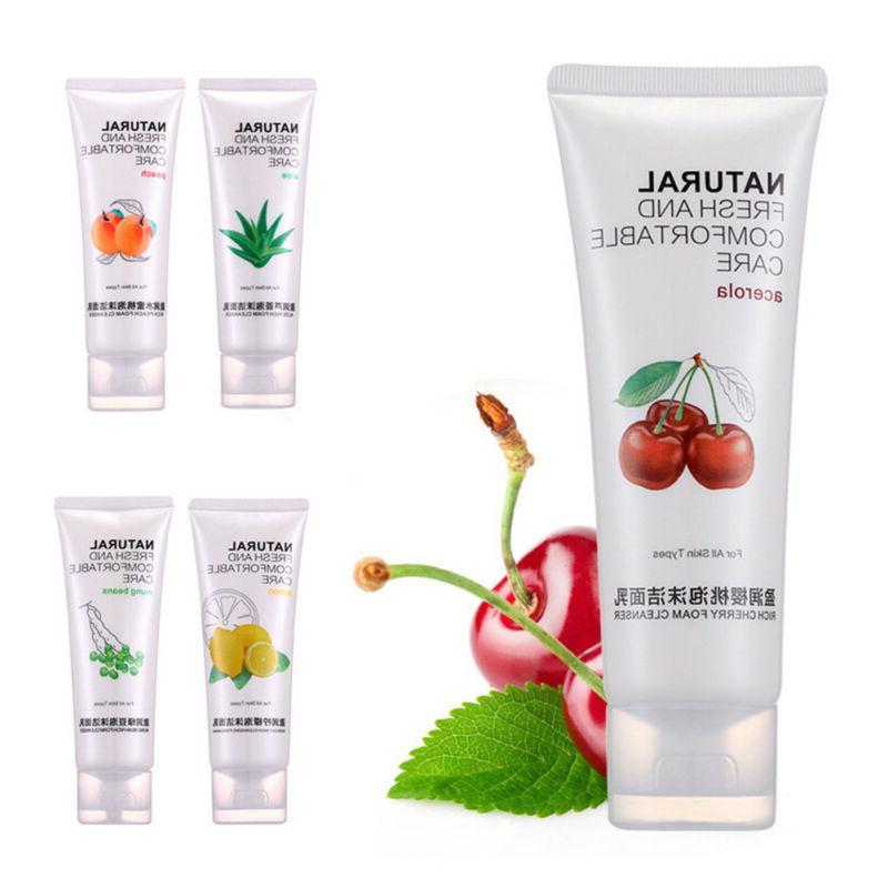 natural lemon fruit moisturizing face wash cleansing