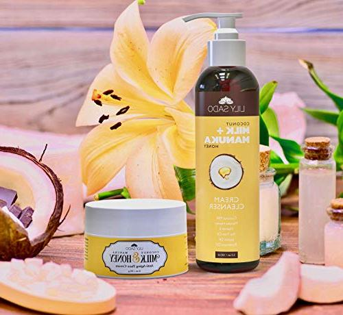 NEW Coconut Milk Honey Cleanser Organic Face Purifying,