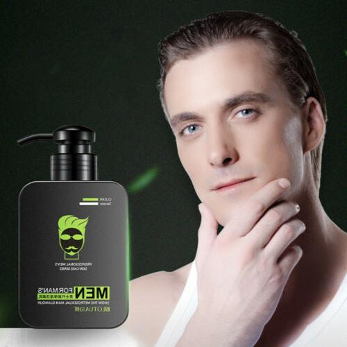 new men s deep cleansing face wash