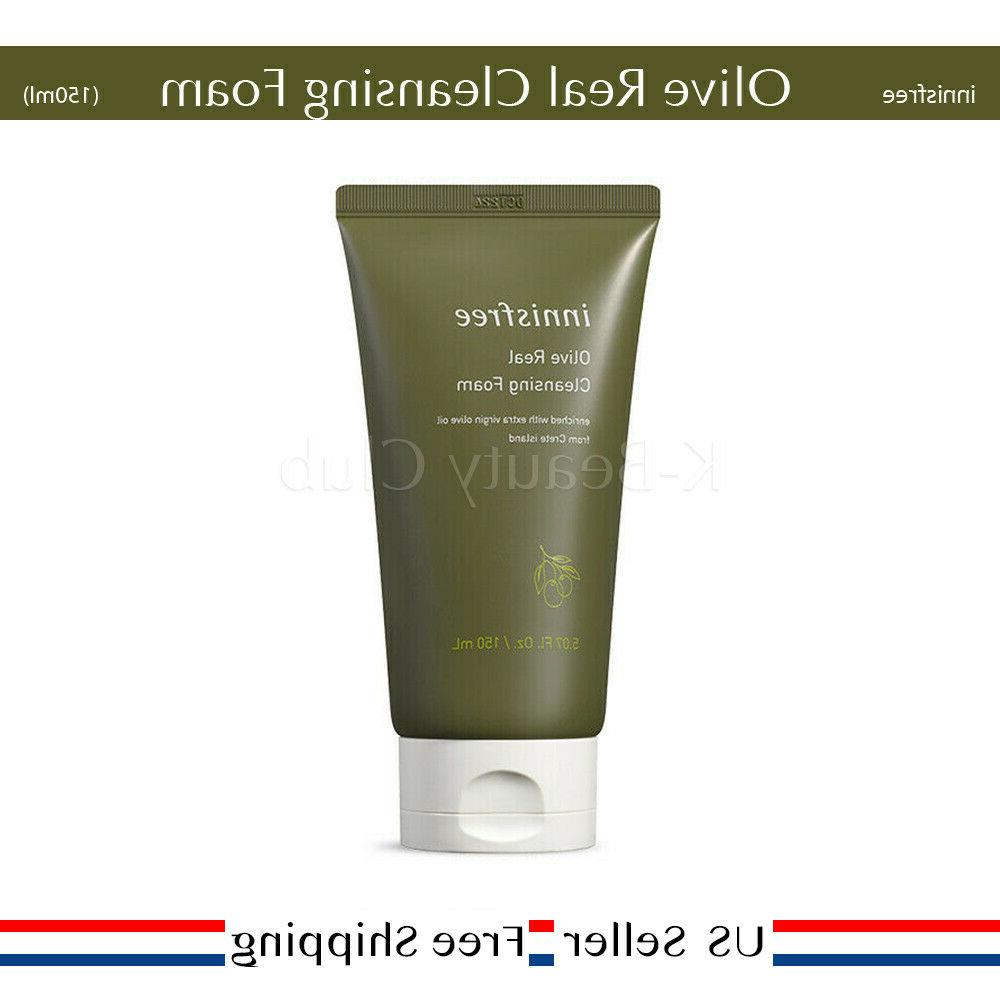 olive real cleansing foam 150 ml