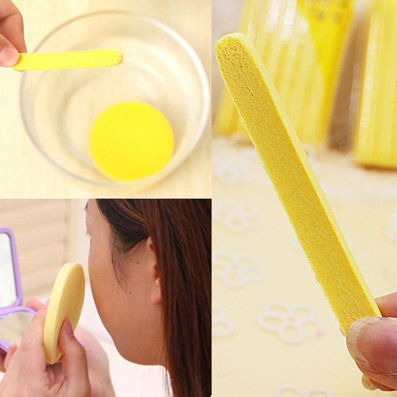 Pad Face Wash Foam Stick Yellow