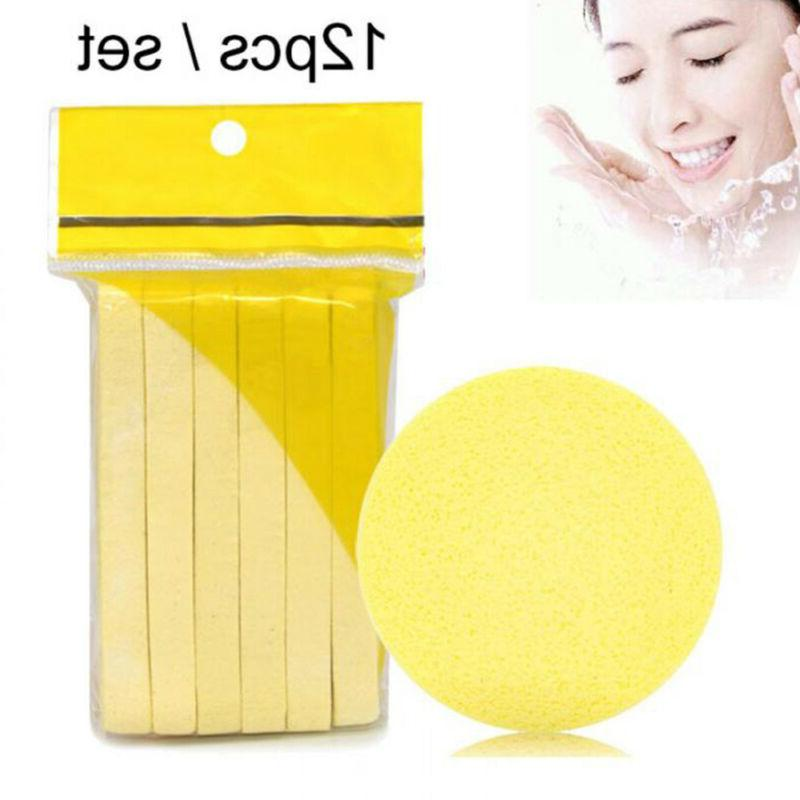 pad 12pcs new compressed face cleansing wash