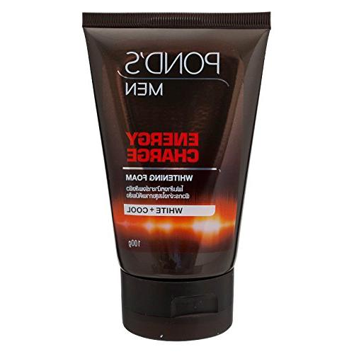 ponds facial foam energy charge