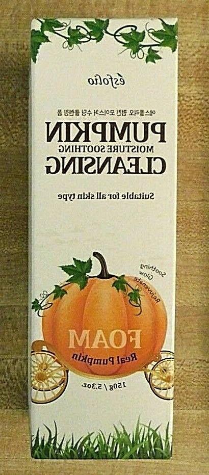 pumpkin moisture soothing cleansing foam suitable all