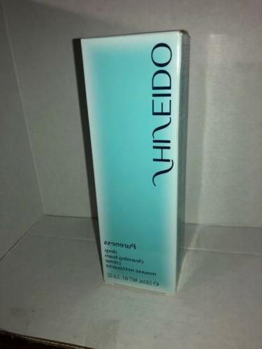 pureness deep cleansing foam 3 6 oz