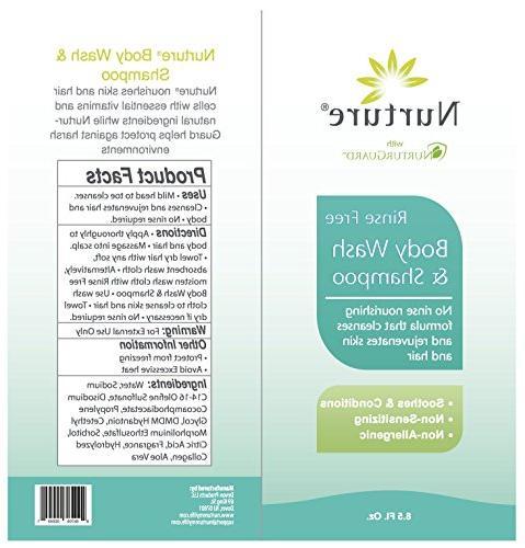 No Body & | Hospital Hair & Foam Vera - Non Non Sensitizing - Free Wipe Away Cleanser 3