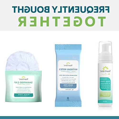 No Body & Shampoo by Nurture | Hospital Full Hair Body Foam Aloe Vera - Non Non Sensitizing Free Away Cleanser -