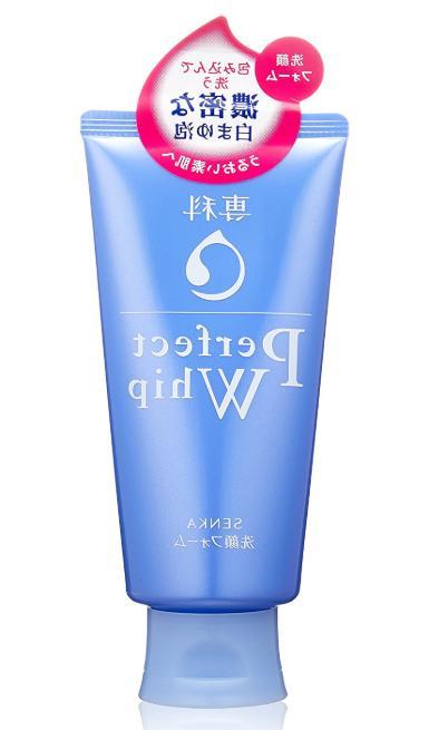 senka perfect whip face wash cleansing foam