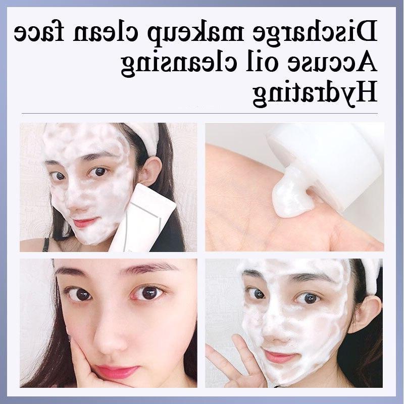 Skin <font><b>foam</b></font> Gel Face Exfoliating Hydration Blackheads