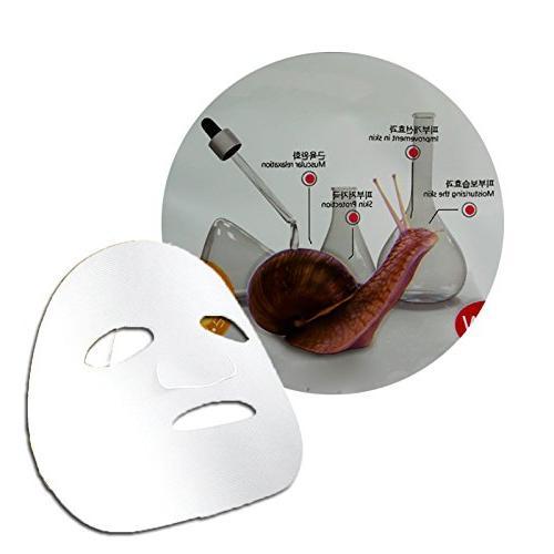 snail facial mask