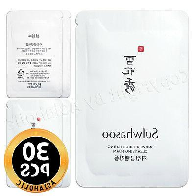 Sulwhasoo Snowise Brightening Cleansing Foam 5ml x 30pcs  Ne